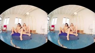 Olive & Verronica - Sexy VR Orgasms X2