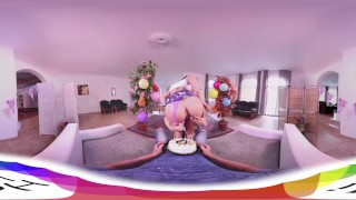 HOLIVR 360 VR Porn Awesome Birthday Threesome