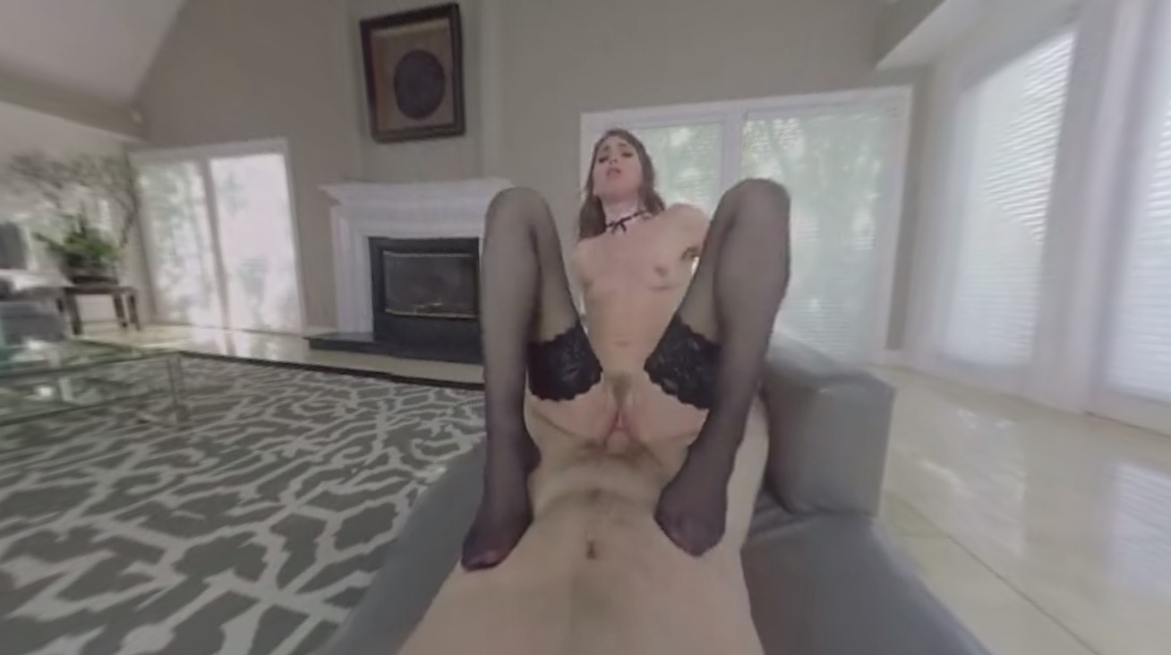 Riley Reid Blows And Rides Your Cock In Virtual Reality