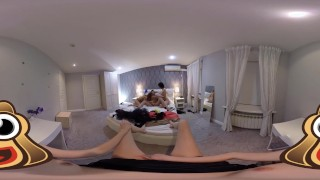 VR Porn Girls only orgy in POV | Virtual Porn 360