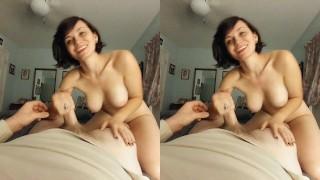 Beautiful Sexy Short Hair Babe Rides Cock