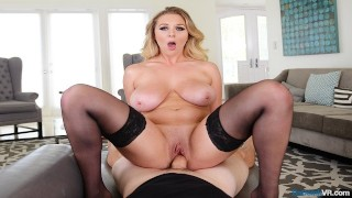 VR Porn BUSTY Milf Brooke Wylde Maid gets fucked by POV on BaDoinkVR.com