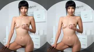 VR BANGERS-MARICA HASE CUM HARD AND SQUIRT IN THE SHOWER