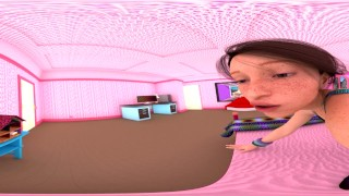 The PINK Room Shrinking - VR 3D-360 Preview for 156-Image Set