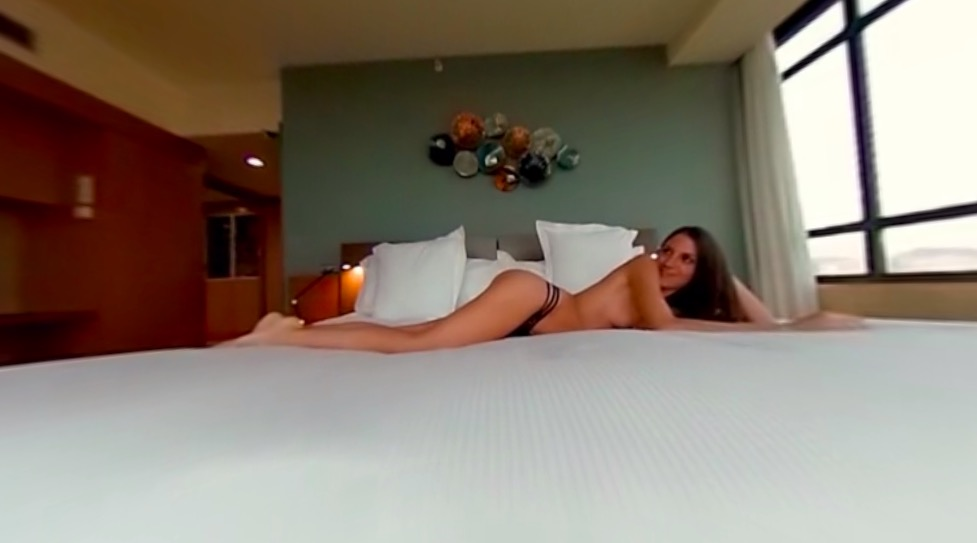 VR Luxury Hotel Room Sex with Barcelona Views