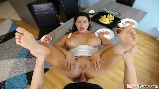 VIRTUAL TABOO - Busty Chloe Takes In Ass For Breakfast