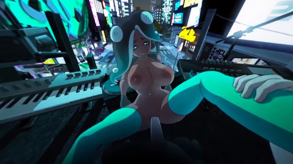 VR Loop Splatoon Marina Gets Fucked - Splatfest Eve by Manyakis